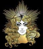 Madonna, señora del dolor Dedicación al corazón inmaculado de Ble libre illustration