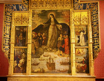 Madonna of the Seafarers Alcazar Royal Palace Seville Spain Stock Photos