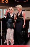 Madonna, Sharon Stone Stock Photography