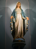 madonna statua obraz stock