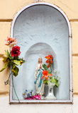 Madonna statue Stock Images