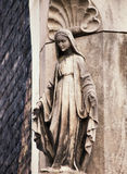 Madonna statue, Bruges, Belgium Royalty Free Stock Photography