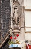 Madonna statue, Bruges, Belgium Stock Photos