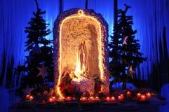 Madonna Statue Stock Photo