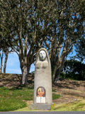 Madonna statue in Great Meadow Park, San Francisco Stock Image
