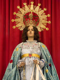 Madonna Statue - Orihuela - Spain Royalty Free Stock Photos