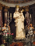 Madonna of Trapani, Trapani, Sicily, Italy Royalty Free Stock Photo