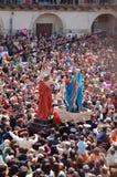 Madonna Vasa Vasa (Madonna Kusskuß) Lizenzfreies Stockbild