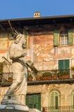 Madonna Verona in Piazza delle Erbe Royalty Free Stock Image