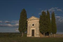 Madonna Vitaleta, Toscanië royalty-vrije stock afbeelding