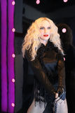 Madonna. Wax figure of Madonna at Madame Tussauds, Amsterdam Stock Photos