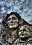 Madonna y niño Foto de archivo