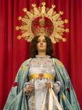 madonnaorihuela spain staty Royaltyfria Foton