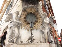 Madonnella Trevi fontanna obrazy royalty free