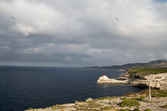 The Madonnetta lighthouse Stock Photo