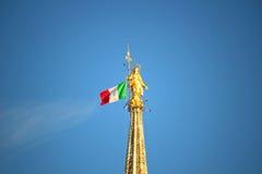 Madonnina Duomo av Milan Royaltyfria Bilder