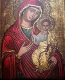 Madonny I dziecka obraz Obrazy Stock