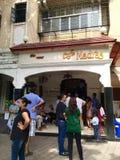 Madras Café - en iconic Mumbai Udupi kokkonstEatery i Mumbai royaltyfria bilder
