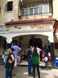 Madras Café - um restaurante icônico da culinária de Mumbai Udupi em Mumbai imagens de stock royalty free