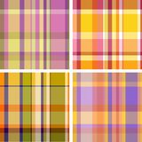 Madras check Stock Photography