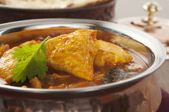 Madras Chicken Indian Curry Food Meal Stock Photography