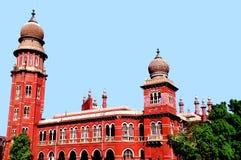 Madras högre domstol royaltyfria bilder