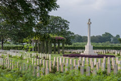 Madras War Cemetery Stock Images