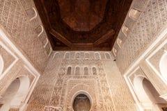 Madrasa Ben Youssef Royaltyfri Bild