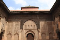 Madrasa Ben Youssef Royalty Free Stock Images