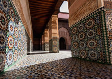 Madrasa Ben Youssef Royalty Free Stock Photos