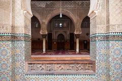 Madrasa Bou Inania Obrazy Stock