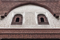 Madrasa Bou Inania Obraz Stock