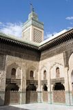 Madrasa Bou Inania at Fez, Morocco Royalty Free Stock Image