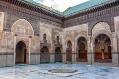 Madrasa Bou Inania in Fez, Morocco Royalty Free Stock Photo