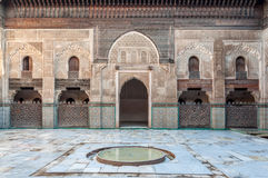 Madrasa Bou Inania in Fez, Morocco Royalty Free Stock Image