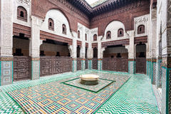Madrasa Bou Inania Royalty Free Stock Photo