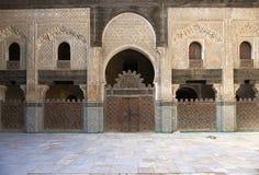 Madrasa Bou Inania Stock Photography