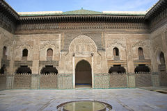 Madrasa Bou Inania Royalty Free Stock Images