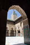 Madrasa in Fez, Morocco Royalty Free Stock Photos