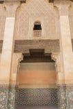 Madrasa i Marraketch Royaltyfri Foto