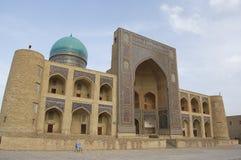 Madrasa mi-i-Arab in Bukhara. Uzbekistan Stock Image