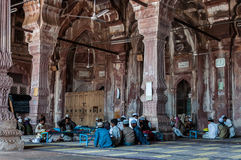 Madrasa school in India. A muslim school madrasa at Taj ul Mosque, Bhopal, India Stock Photo