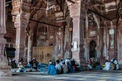 Madrasa skola i Indien Arkivfoto