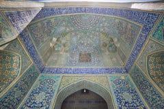 Madrasa-YE-Chahar Bagh, en Isfahán, Irán fotos de archivo