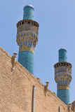 Madrasa-YE-Chahar Bagh, en Isfahán, Irán fotografía de archivo