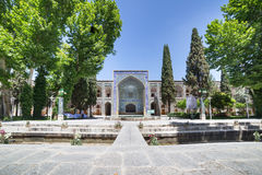 Madrasa-ye-Chahar Bagh, in Isfahan, Iran. Stock Images