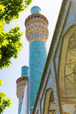 Madrasa-ye-Chahar Bagh, in Isfahan, Iran. Stock Photo