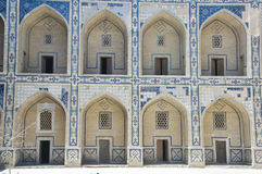 Madrasah in Bukhara Royalty Free Stock Photography