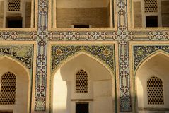Madrasah in Bukhara Royalty Free Stock Photography