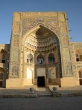 Madrasah in Bukhara Stock Image